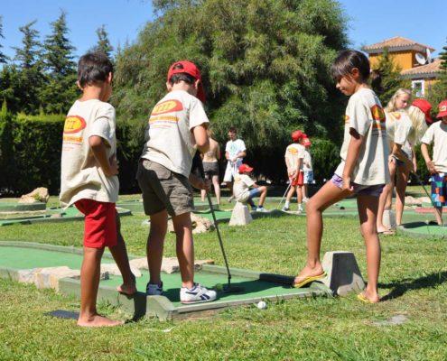 Actividades Lúdica en Campamento de Verano