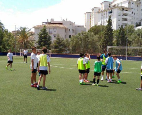 Campamento de Idiomas y Fútbol en Marbella