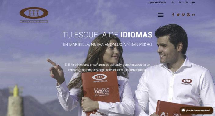 Nuevo sitio web del Instituto Internacional de Idiomas